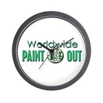 IPAP WORLDWIDE Paint Out Wall Clock