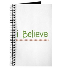 I believe (handwritten) Journal