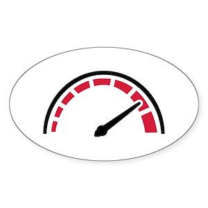 Speedometer Stickers Cafepress