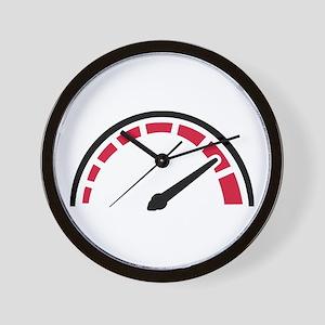 Speedo racing motorcycle Wall Clock