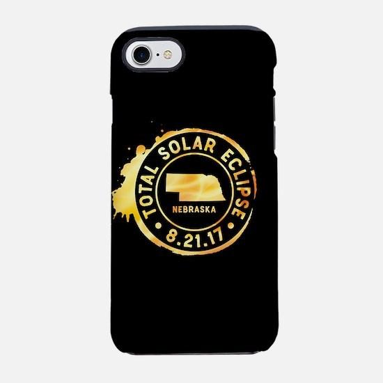 Eclipse Nebraska iPhone 7 Tough Case
