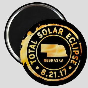 Eclipse Nebraska Magnet