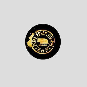 Eclipse Nebraska Mini Button