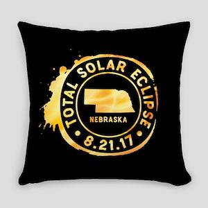 Eclipse Nebraska Everyday Pillow