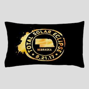 Eclipse Nebraska Pillow Case