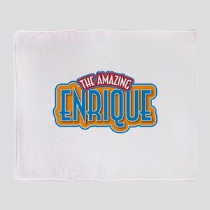 The Amazing Enrique Throw Blanket