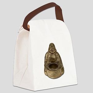 BrassBuddha112311 Canvas Lunch Bag