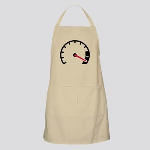 Speed car speedometer Apron