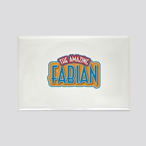 The Amazing Fabian Rectangle Magnet