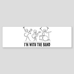 Stick man band Sticker (Bumper)