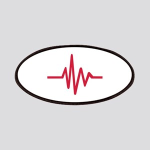 Frequency pulse heartbeat Patches