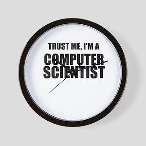 Trust Me, Im A Computer Scientist Wall Clock