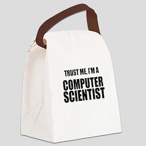 Trust Me, Im A Computer Scientist Canvas Lunch Bag