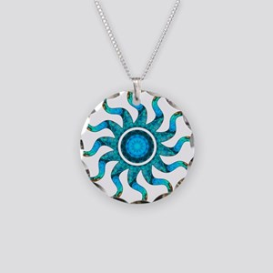Wild Sun Redemption Necklace Circle Charm