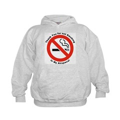 Please Don't Smoke (Front) Hoodie
