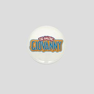 The Amazing Giovanny Mini Button