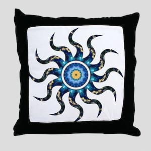 Wild Sun Witness Throw Pillow