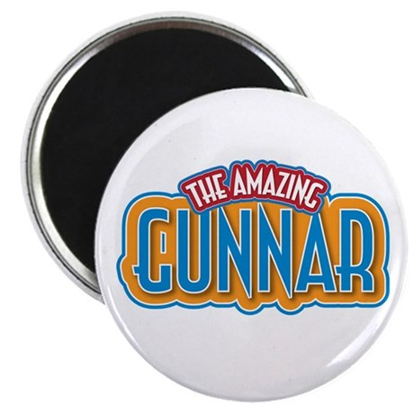 """The Amazing Gunnar 2.25"""" Magnet (100 pack)"""