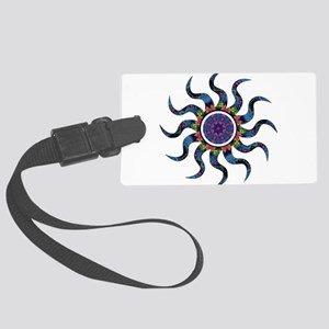 Wild Sun Festival Large Luggage Tag