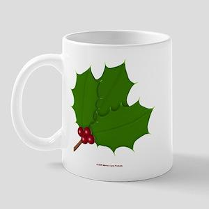Christmas Holly-days Mug