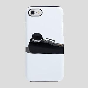 BlackFedoraMusicCase102811 iPhone 7 Tough Case