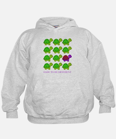 Dare to be Different Turtles Hoodie