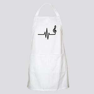 Frequency music note Apron