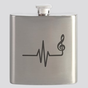 Frequency music note Flask
