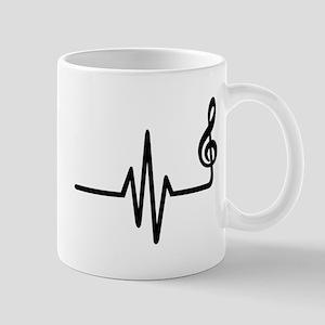 Frequency music note Mug