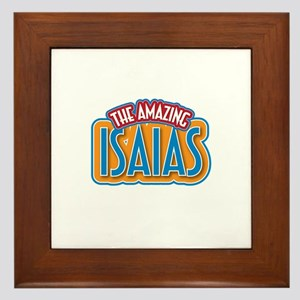 The Amazing Isaias Framed Tile