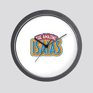 The Amazing Isaias Wall Clock