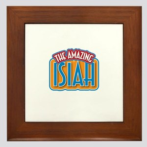 The Amazing Isiah Framed Tile
