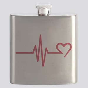 Frequency heart love Flask