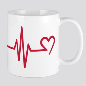 Frequency heart love Mug