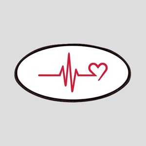 Frequency heart love Patches