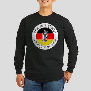 Oktoberfest Toast Long Sleeve Dark T-Shirt