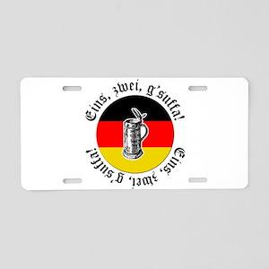 Oktoberfest Toast Aluminum License Plate