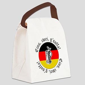 Oktoberfest Toast Canvas Lunch Bag