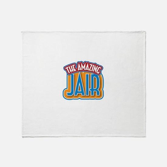 The Amazing Jair Throw Blanket