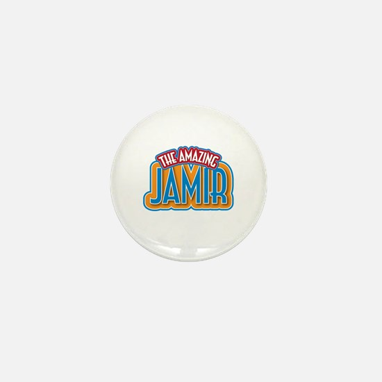 The Amazing Jamir Mini Button