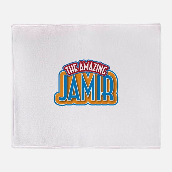 The Amazing Jamir Throw Blanket