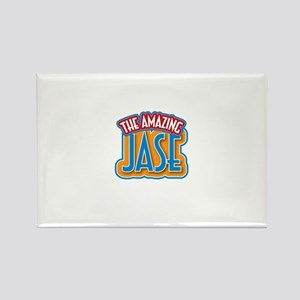 The Amazing Jase Rectangle Magnet