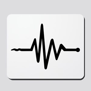 Frequency music Mousepad