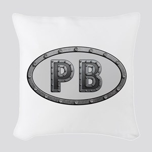 PB Metal Woven Throw Pillow