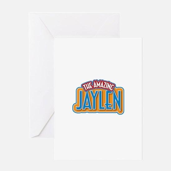 The Amazing Jaylen Greeting Card