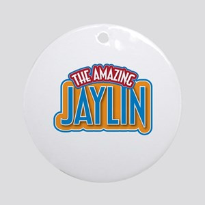 The Amazing Jaylin Ornament (Round)