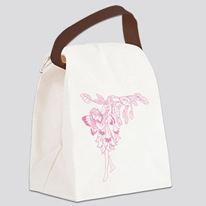Fushia Fairy new Canvas Lunch Bag