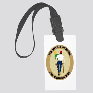Shrine Luggage Tag