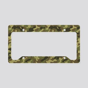 Army Camouflage License Plate Holder