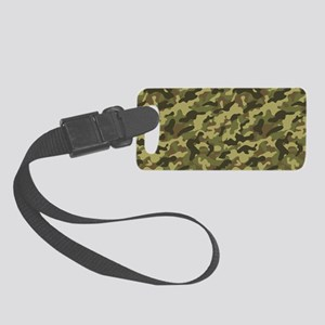 Army Camouflage Small Luggage Tag